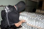 В Россию не пустили 1750 бутылок контрафактного алкоголя