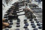 Близь детского лагеря найдены боеприпасы
