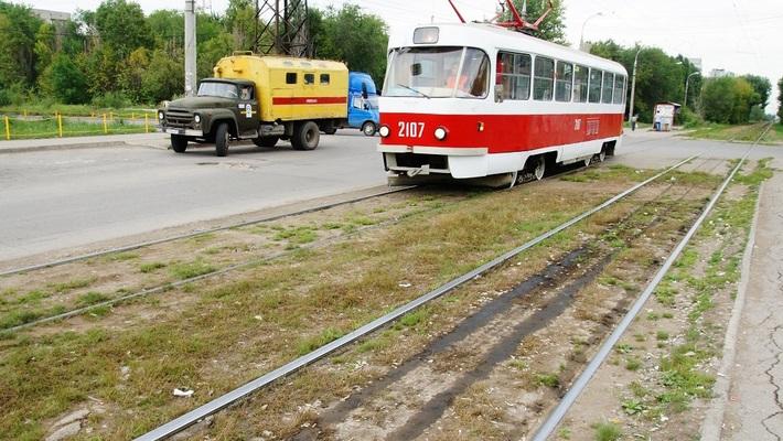 В Самаре по Победе и Кирова временно изменилась схема движения трамваев.
