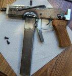 У жителя Оренбургской области изъят самодельный пистолет