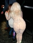 Леди Гага спокойно «светила» нижним бельем