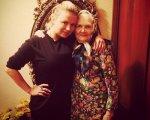 Известная певица Анна Семенович отпраздновала день рождения своей бабушки