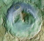 Американский марсоход «Кьюриосити» обнаружил на Марсе следы самого древнего озера
