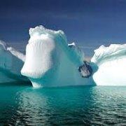 Толщина арктического льда увеличилась в два раза