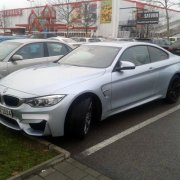 Новый BMW M4 был замечен в Германии