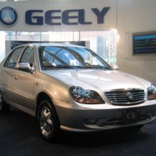 ��������� ������������ Geely ������� ����� �� ����