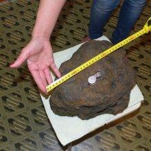В Челябинской области нашли еще один обломок упавшего метеорита весом 24 кг