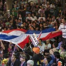 В Таиланде продолжаются мирные акции протестов