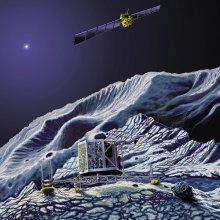 """Космический зонд «Розетта» вышел на связь после """"спячки"""""""