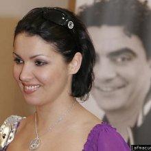 Анна Нетребко исполнила олимпийский гимн в Сочи