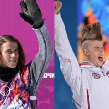 Сноубордист Сандбек изменил прическу перед церемонией награждения на Олимпиаде