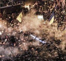 Правительство Украины перекрыло въезд в Киев