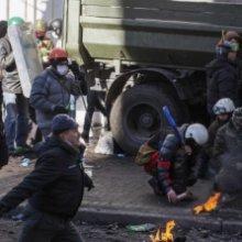 В Киеве в беспорядках погибли шесть правоохранителей