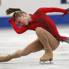 Тренер Липницкой заявила, что спортсменка допустила техническую ошибку