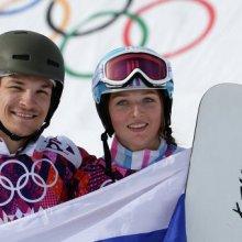 Сноубордист Вики Уайлд принес России первое в истории Олимпиады золото
