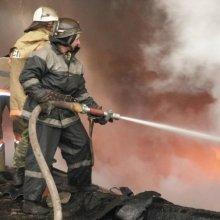 Два трупа найдены в сгоревшей казарме «Беркута» во Львове