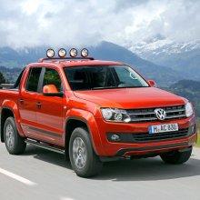 МТМ выпустила протюнингованный пикап Volkswagen Amarok с мотором V8