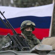 Российские солдаты захватили штабы украинских пограничников в Крыму