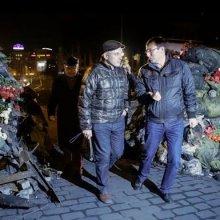 На Майдане с речью выступил Михаил Ходорковский
