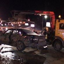 На востоке Москвы в ДТП пострадали 6 человек, 5 из них госпитализированы
