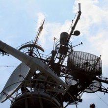 Российские солдаты захватили крымский пост радиотехнической разведки в Оленевке