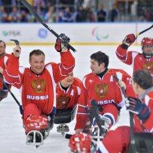 Сборная России по следж хоккею проиграла американцам финал Паралимпиады