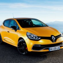 ������� ���������� ���� �� ����� Renault Clio RS