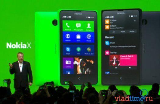 В России появился первый смартфон Nokia X на Android