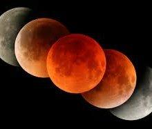 15 апреля произойдет полное затмение луны