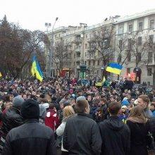 В харьковском митинге участвовали 3 тысячи человек