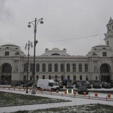На Киевском вокзале Москвы объявили эвакуацию из-за сигнала о бомбе