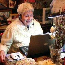 Интернет на 30% снижает вероятность депрессии у пожилых людей