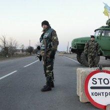 В Донецкой области в результате обстрела блокпоста украинских десантников погиб один человек