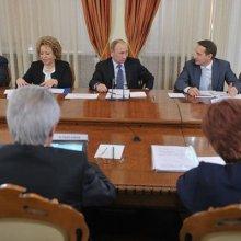 Путин встретится в Петрозаводске с советом Законодателей РФ