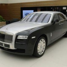 ��������� ���������� ���� �� Rolls-Royce Ghost Series II