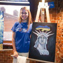 «Сеть» провела выставку картин молодых художников в Калининграде