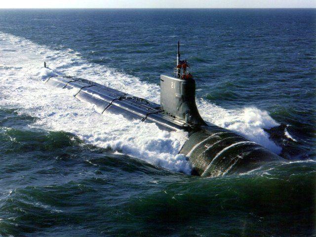 Испытания автономная подводная лодка
