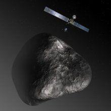 Приборы «Rosetta» приступили к исследованиям кометы «67P»