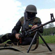 Украинская армия ведёт артобстрел в окрестностях Луганска
