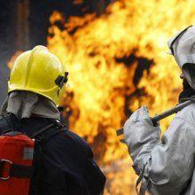 Ликвидировали пожар в двухэтажном здании Зеленограда