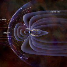 Ученые: магнитное поле Земли ослабевает