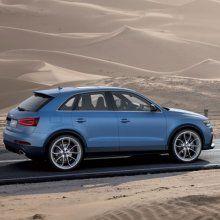 Audi приступил к тестированию нового RS Q3