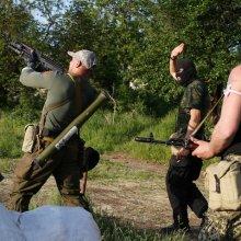 На блокпосте под Славянском снова сражение