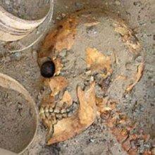 В Иране обнаружили стекляный глаз которому 4800 лет