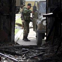 Ополченцы отразили атаку на Луганск