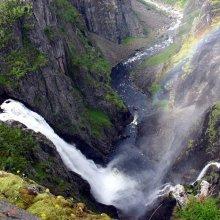 В Норвегии в водопаде погибла российская туристка