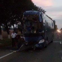 Автобус с 30-ю пассажирами разбился на Кубани