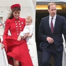 Британский наследник принц Джордж празднует первый День рождения