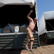 Украина признала груз из России гуманитарной помощью