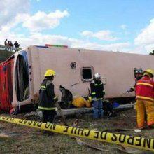 В Чили перевернулся автобус, погибли пятеро